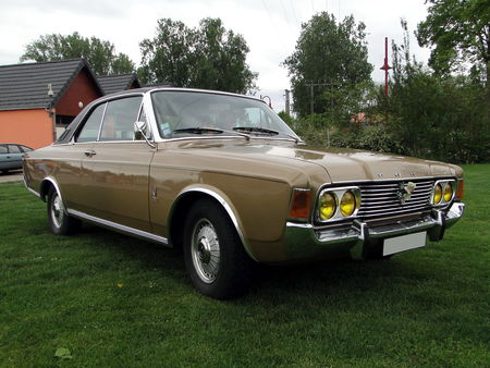 FORD 26M P7 Automatic Coupe 1968 1971 Ideale DS Achenheim 2010 1