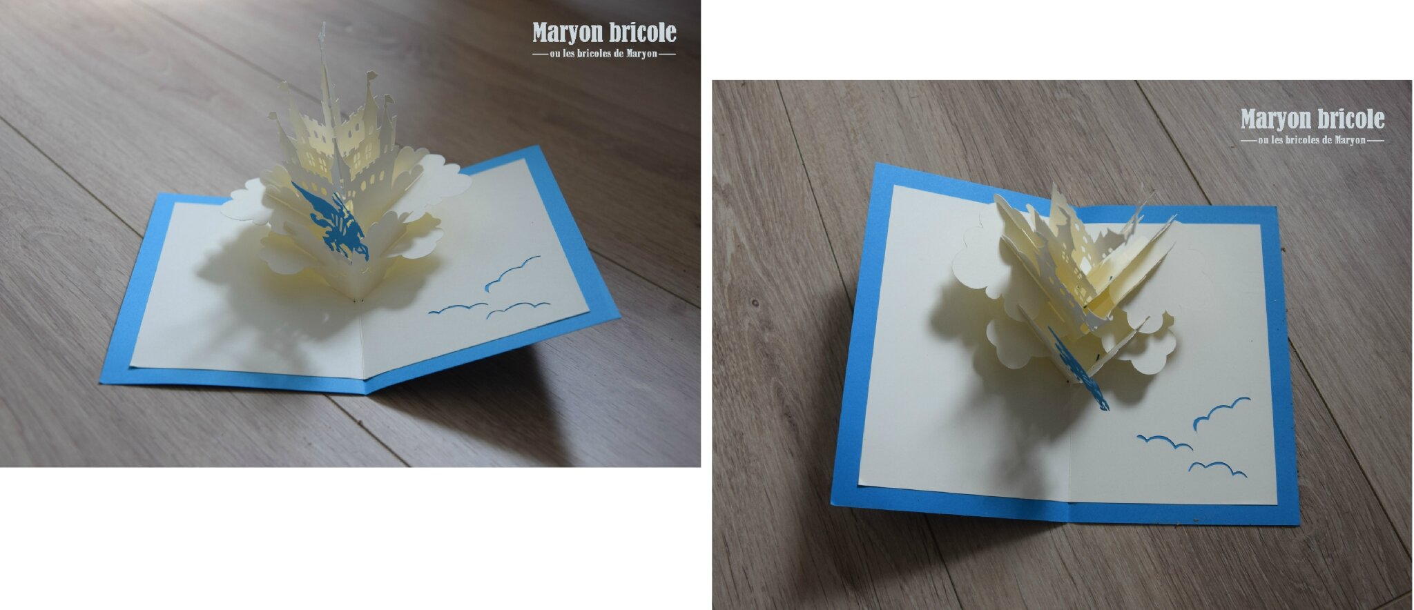 Cartes de voeux 3d pop up tous les messages sur cartes de voeux 3d pop up maryon bricole - Carte de voeux pop up ...