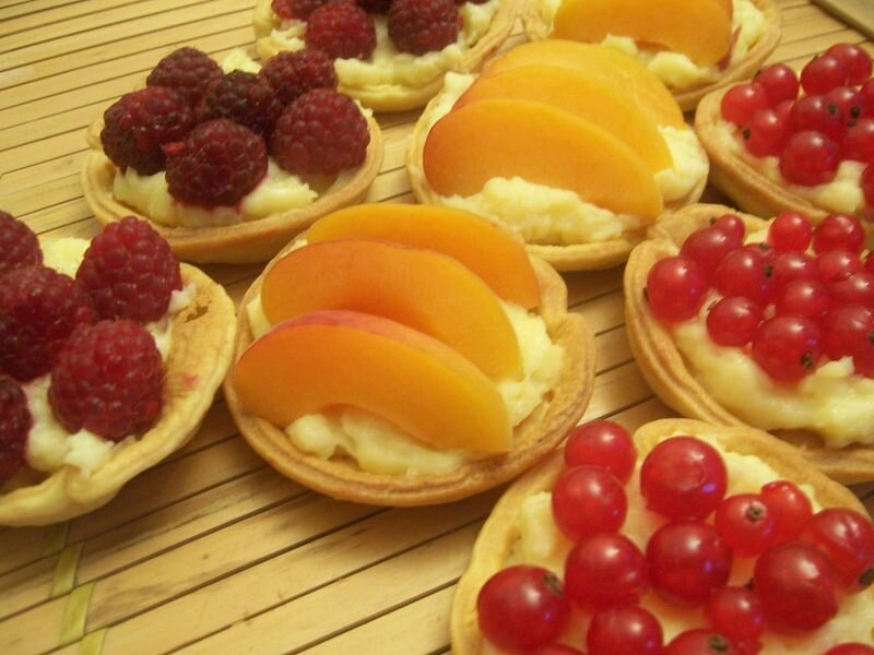 mini tartelettes aux fruits frais anneauxfourneaux. Black Bedroom Furniture Sets. Home Design Ideas