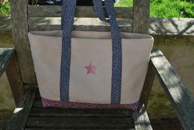 sac cabas étoile 001