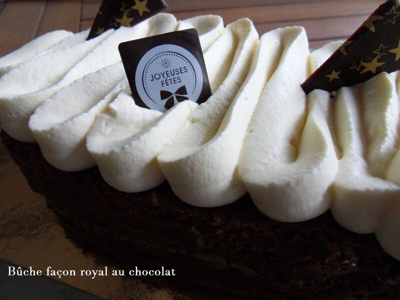 buche façon royal au chocolat5
