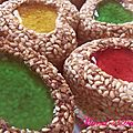 Sables Colores aux Grains de Ssames