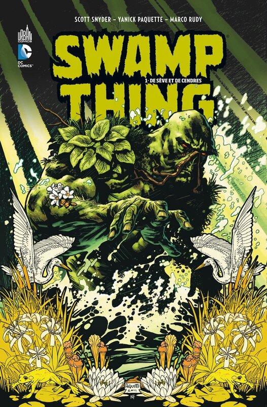 swamp thing 1 de sève et de sang
