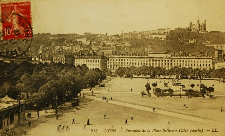 place Bellecour Lyon (1)