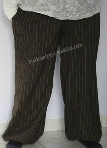 pantalon aladin marron
