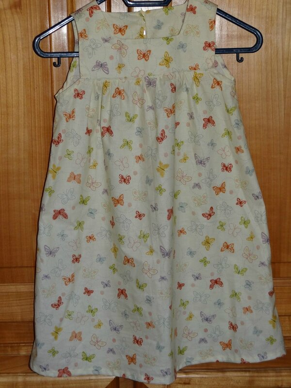 robe papillons 1
