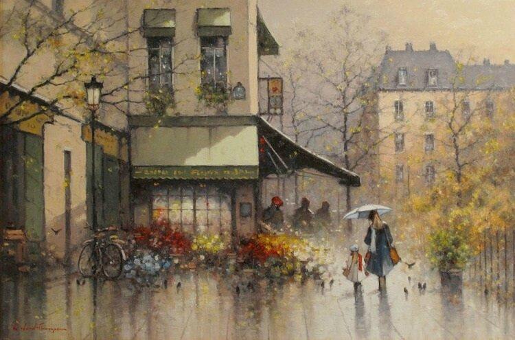 autumn paris Ramon-Ward-Thompson quartier latin