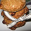 Cookies au chocolat blanc & petit goût de caramel by betsa