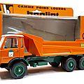 Berliet grh 230 6x4 benne jean lefebvre. lbs. #g1. 1/43.