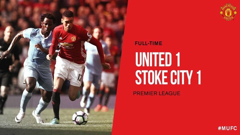 but Man United 1-1 Stoke