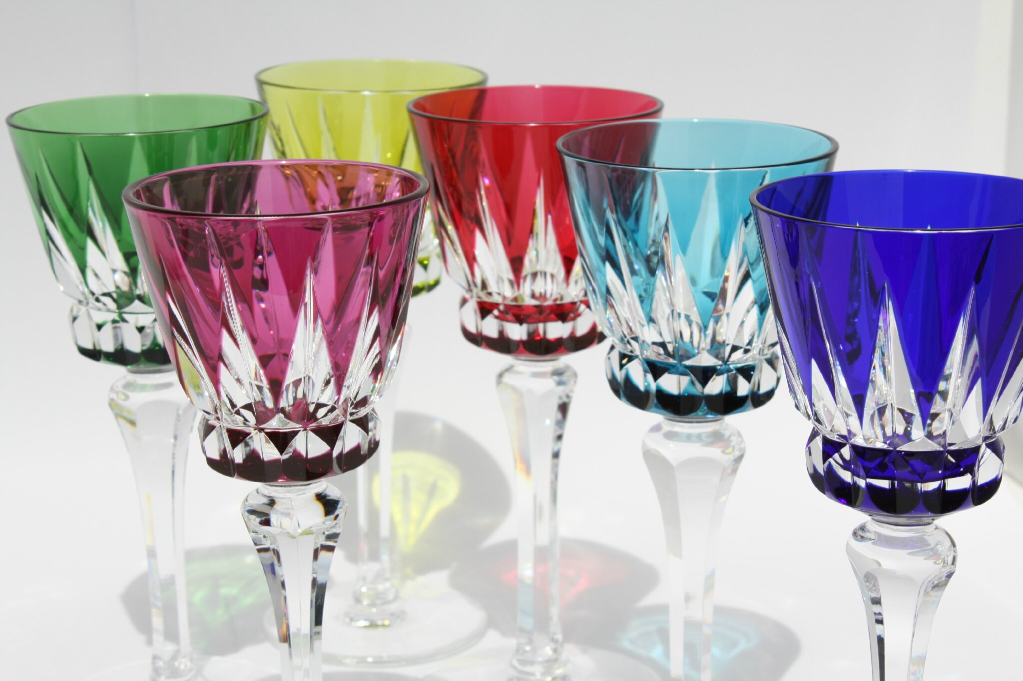 Rares verres Roemer St Louis Guernesey