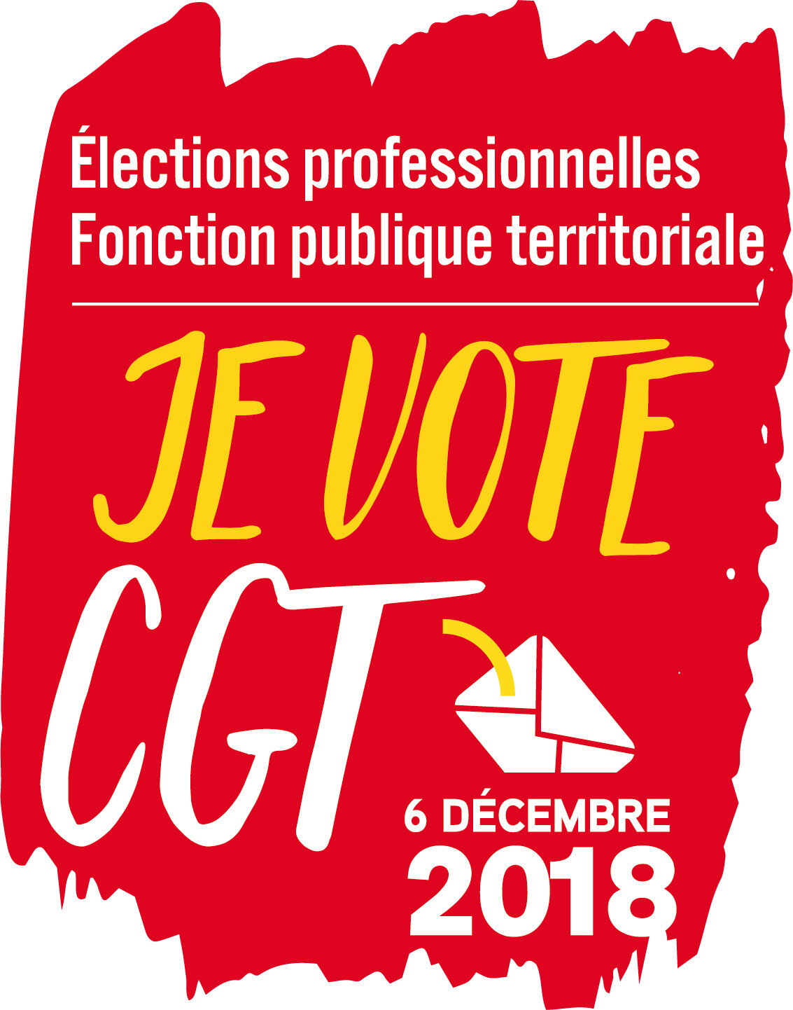 Invitation à la galette revendicative du syndicat et de l'Union Locale CGT