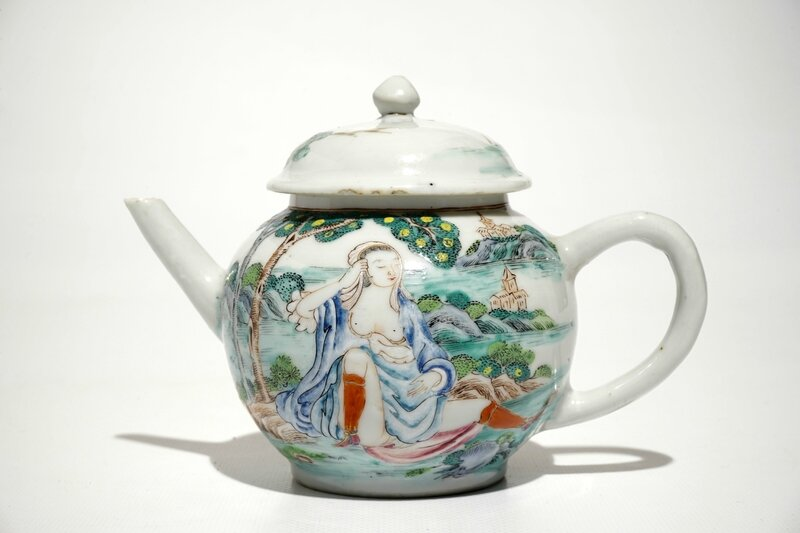 a-chinese-famille-rose-teapot-and-cover-with-erotical-design-qianlong-1