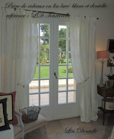 cr ations uniques rideaux drap ancien voile de lin album photos l 39 atelier de cr ation lin. Black Bedroom Furniture Sets. Home Design Ideas