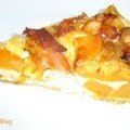 Tarte aux Patates douces, Bacon et Chvre de Cucina