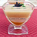 Délicate soupe de poires au miel