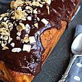 Cake marbré crousti-fondant
