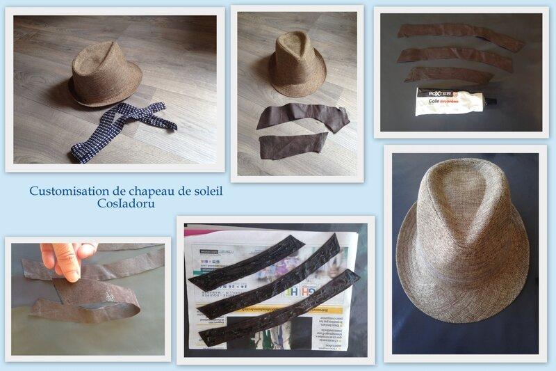 Customisation de chapeau de soleil1