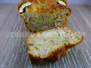 cake courgette chèvre 06