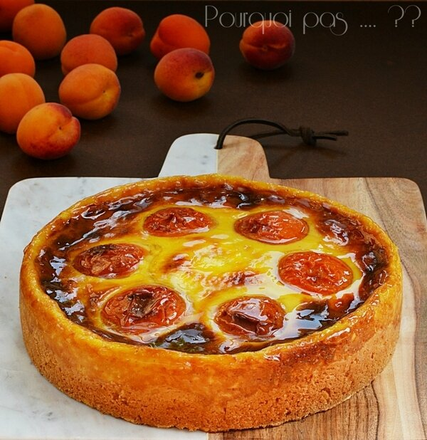 FLAN PATISSIER ABRICOTS ISABELLE