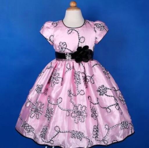 "Robe de fillette ""Murier"" 4/5 ans"