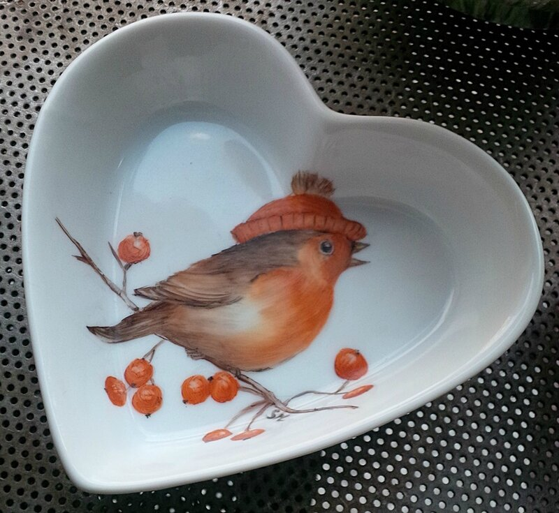 oiseau coeur n) 1