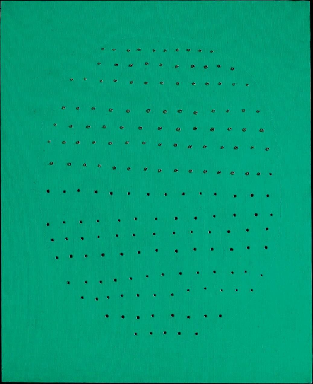 Lucio Fontana (1899-1968), Concetto spaziale, 1966-1967