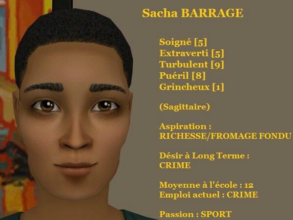 Sacha BARRAGE
