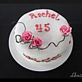 Gâteau fleurs japonaises