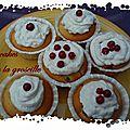 Cupcakes à la groseille