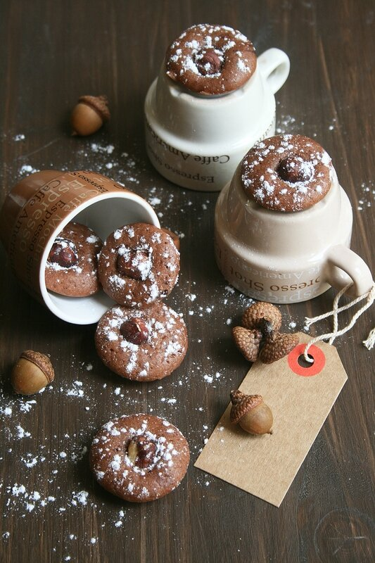 mini financiers choco-noisettes - Passion culinaire Minouchka