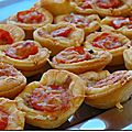 Mini Tartelettes au Thon et Tomates Cerises