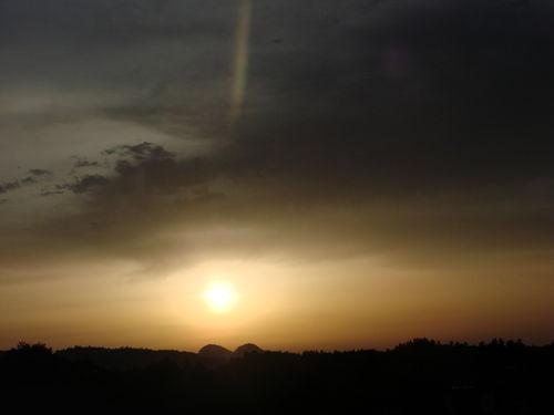 2008 06 23 Le coucher de soleil