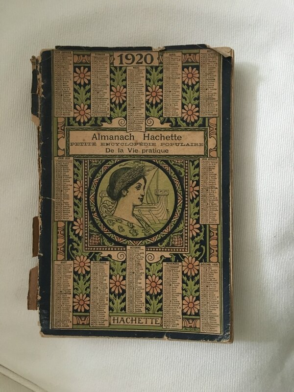 Almanach Hachette 1920
