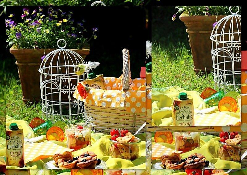 Un repas nomade pour un joli concours.......