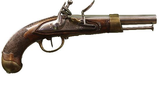 Pistolet d'arçon