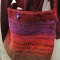 Sac tricot puis feutr