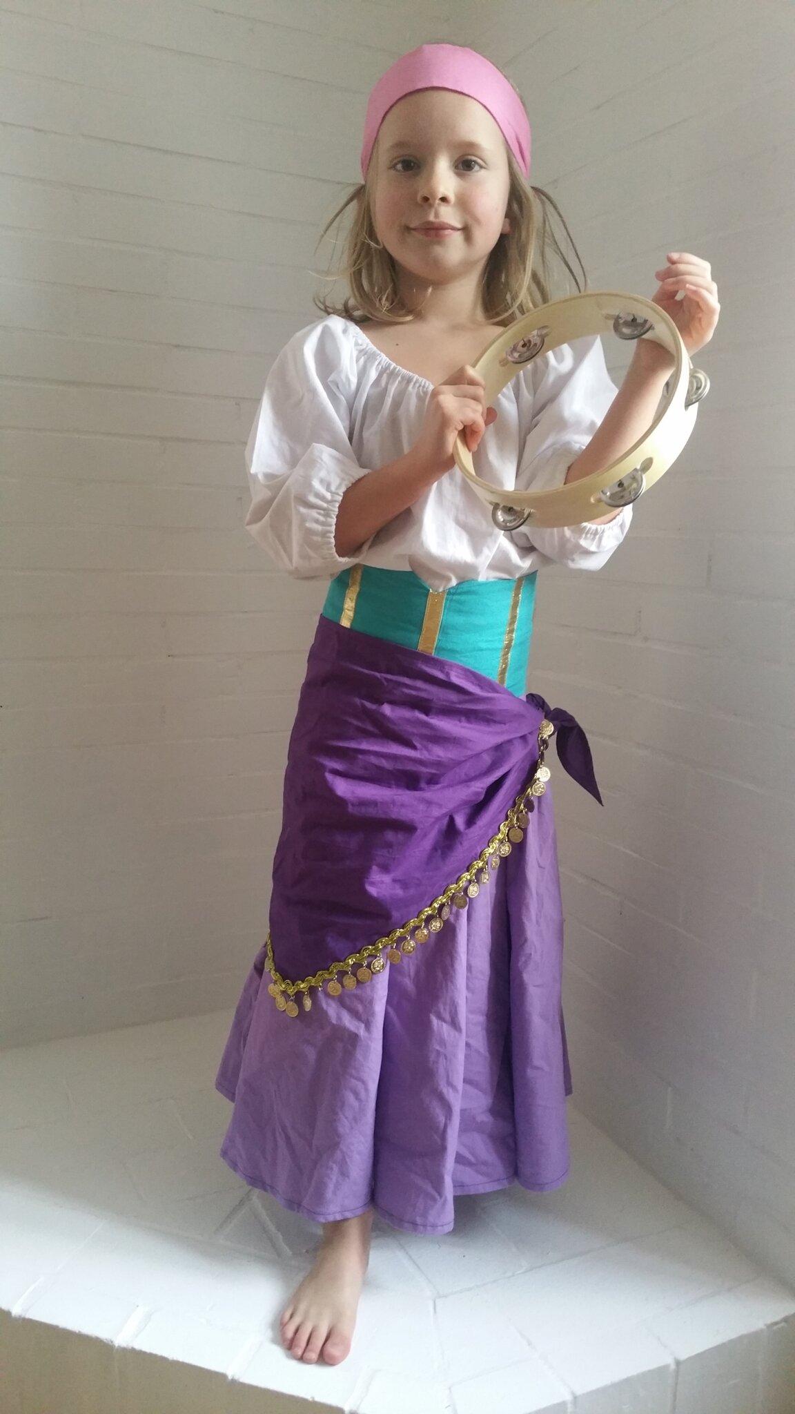 deguisement esmeralda fille