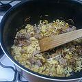 Cuisine des restes même pendant les travaux 2 éme !!!