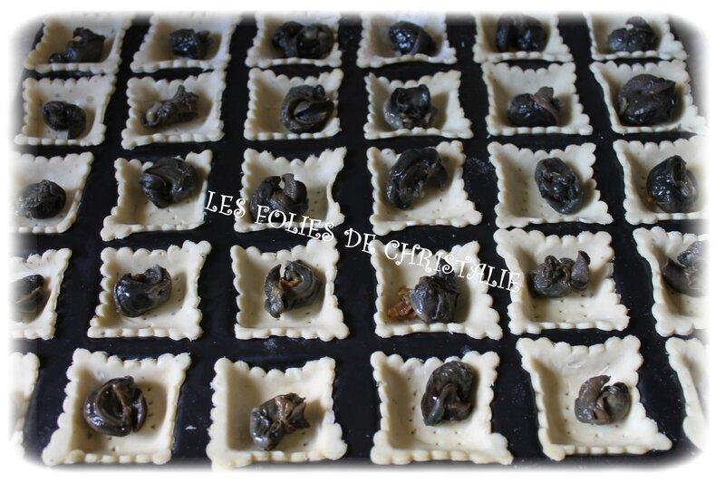 Tartelettes escargots 3