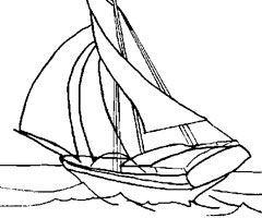coloriage-bateau-a-voile
