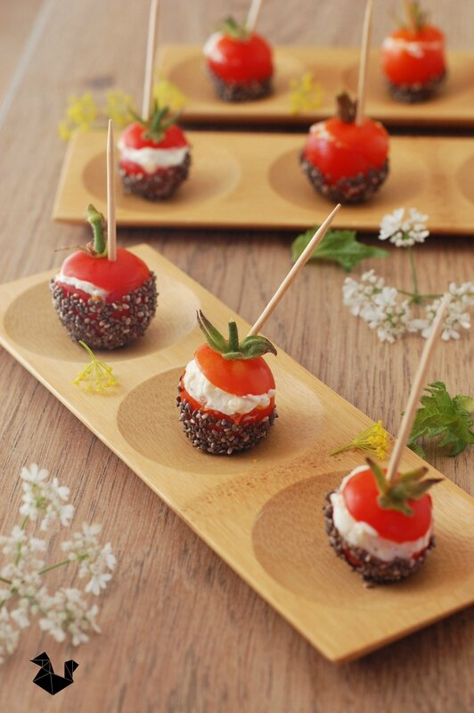 tomate_d'amour_fromage frais_chia