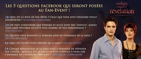 questions fan event