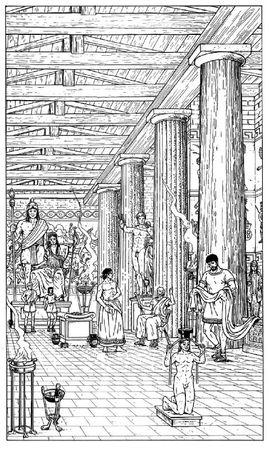 templeHeraInterieur