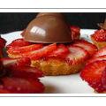 La tarte aux fraises revisitée... aux senteurs d'huile d'olive!