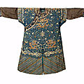 A kesi summer 'dragon' robe, jifu, 19th century