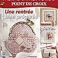 Le point de croix...rouge