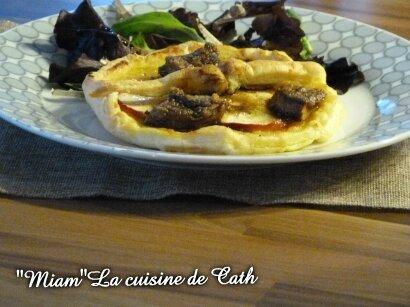 """ღ """" MIAM """" Plateau de fines pommes et Foie gras"""