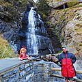 Cascade des Moles , Andorre