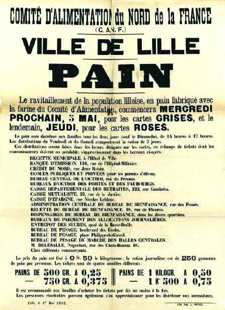 Lille ration pain